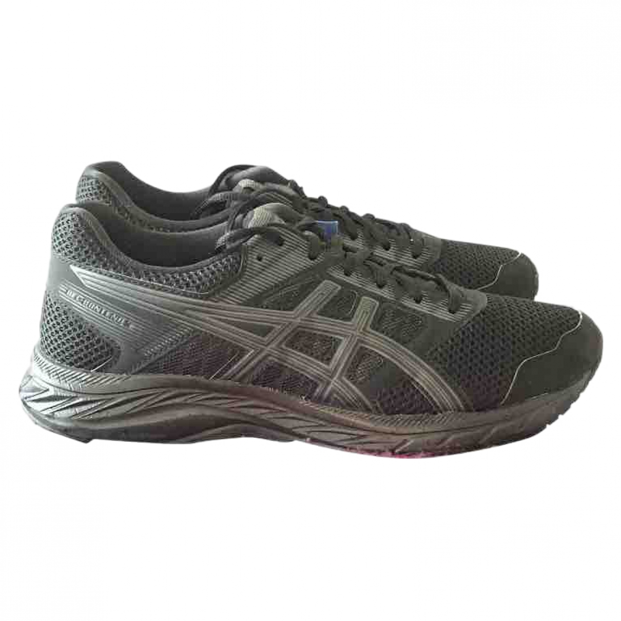 Asics \N Sneakers in  Schwarz Polyester