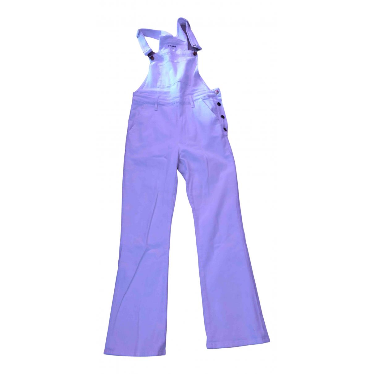 Frame Denim \N Jumpsuit in  Weiss Denim - Jeans