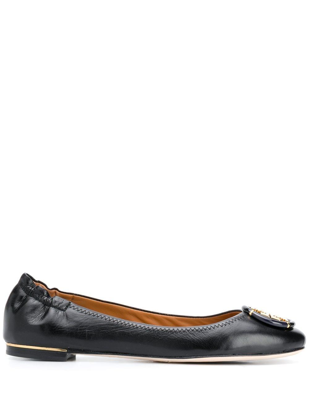 Minnie Leather Ballet Flats