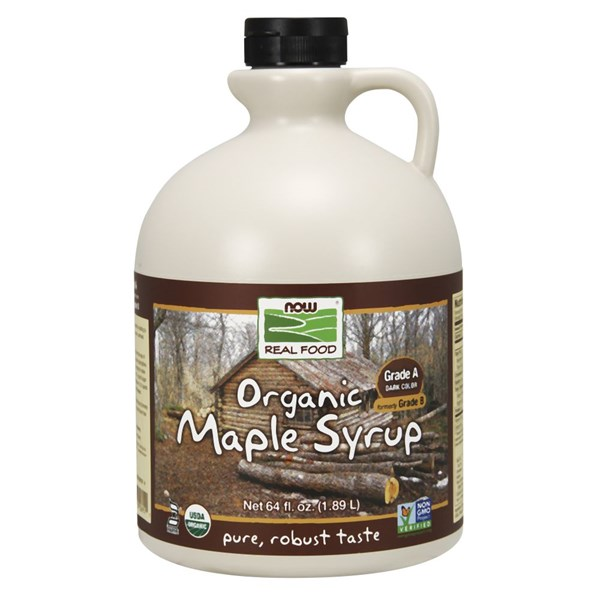 Maple Syrup Organic Grade A 64 oz by Now Foods