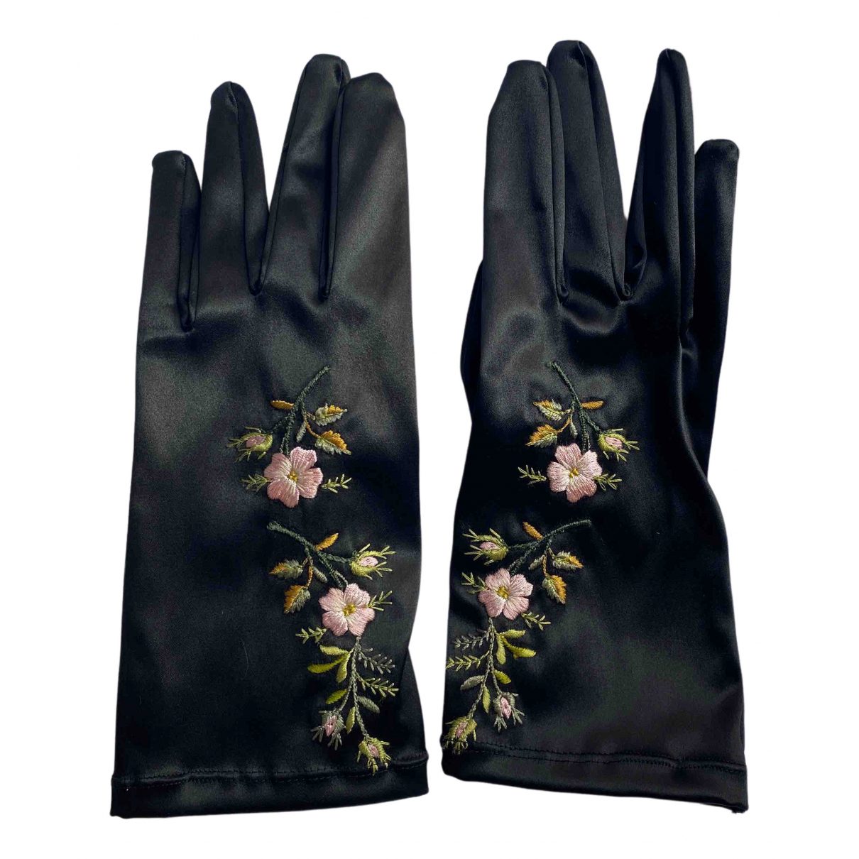 Gucci \N Handschuhe in  Schwarz Polyester