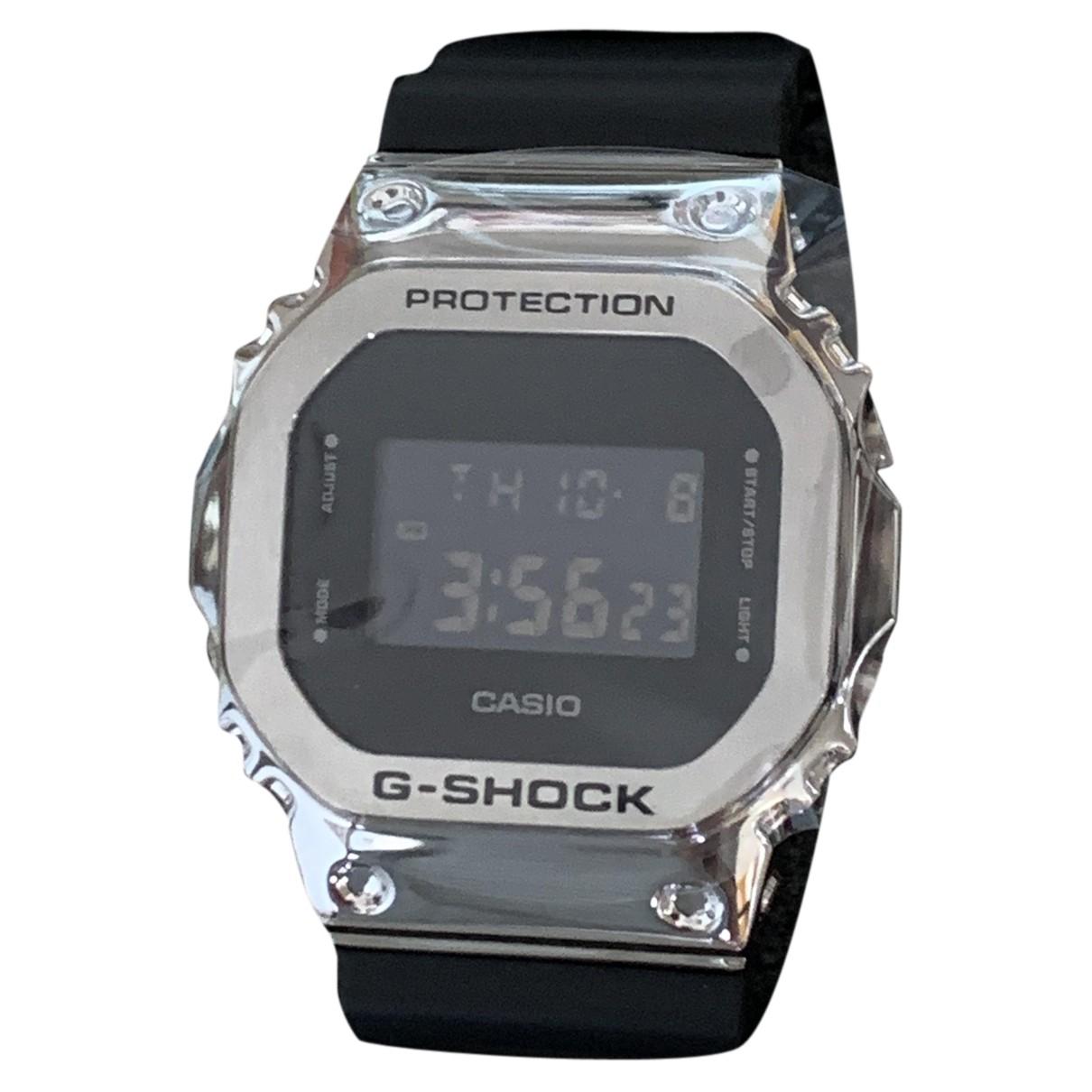 Casio \N Uhr in  Silber Stahl