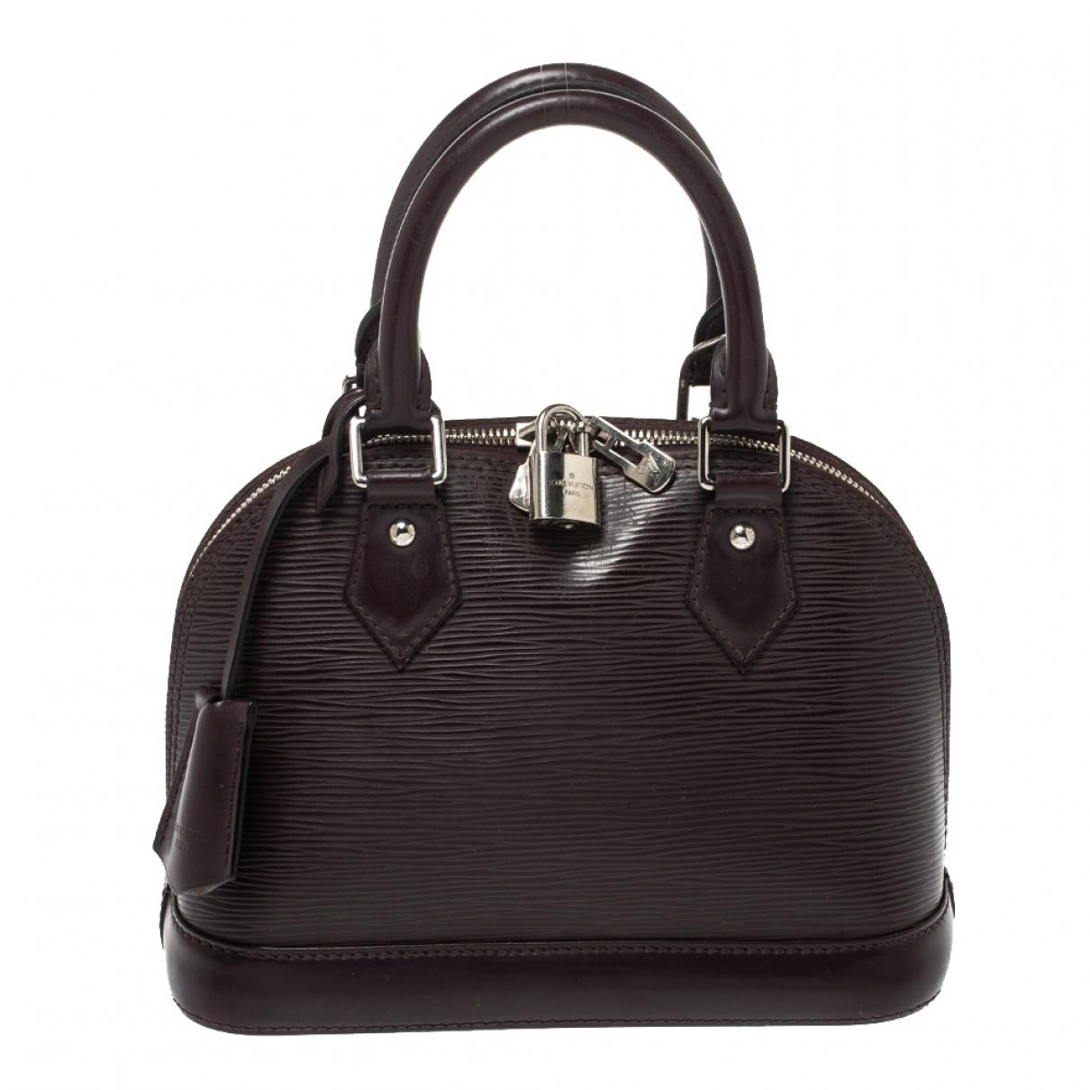 Louis Vuitton - Sac a main Alma BB pour femme en cuir