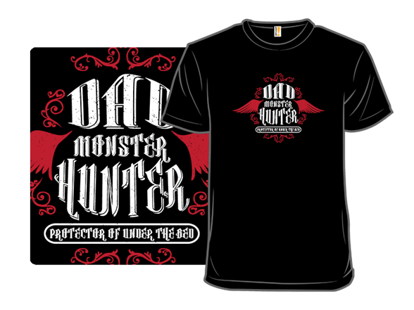 Dad Monster Hunter T Shirt