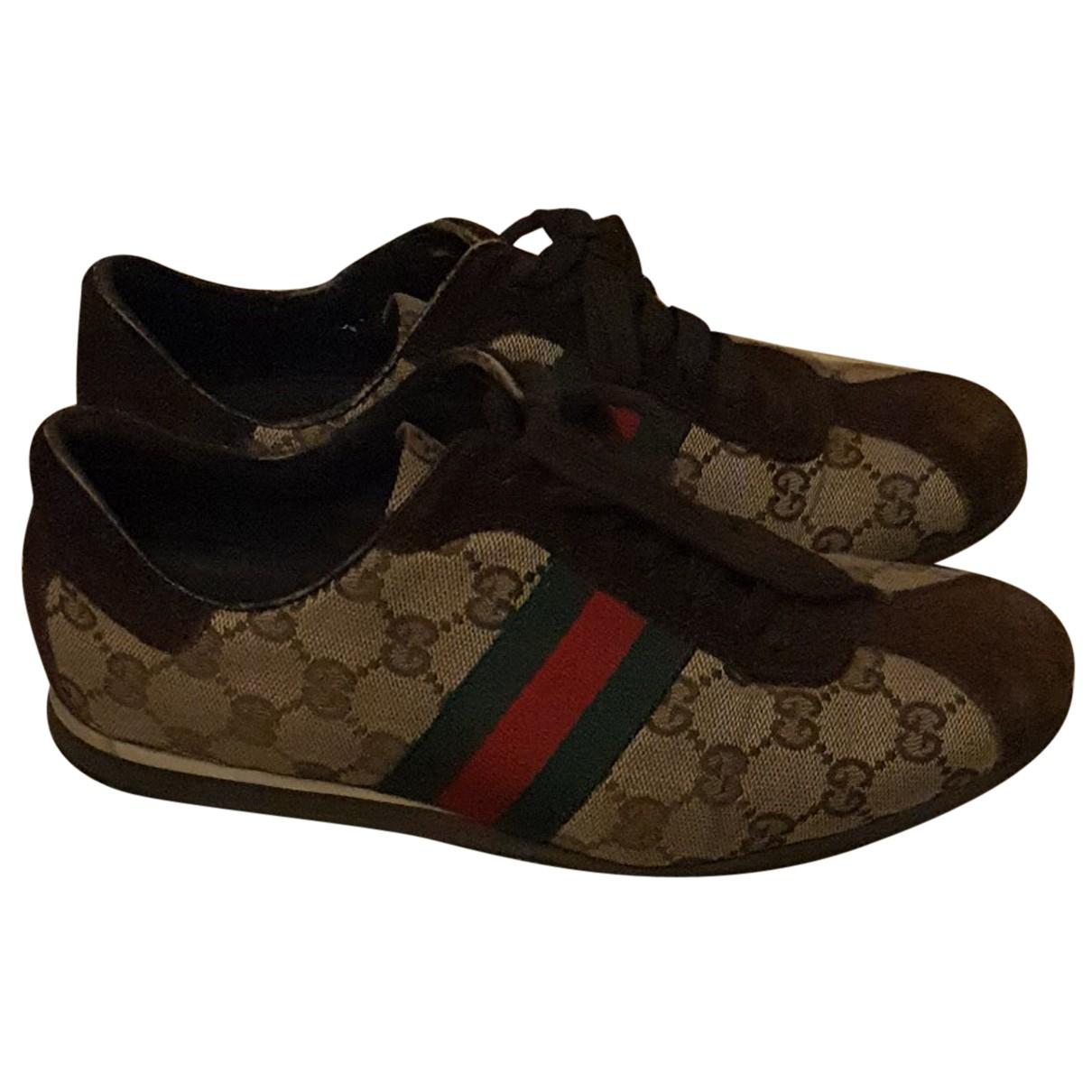 Gucci - Baskets G74 pour femme en toile - multicolore