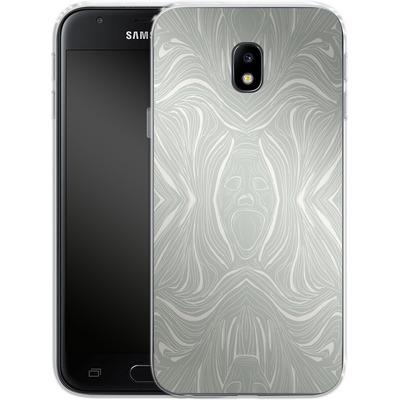 Samsung Galaxy J3 (2017) Silikon Handyhuelle - Ghoul Pattern von caseable Designs
