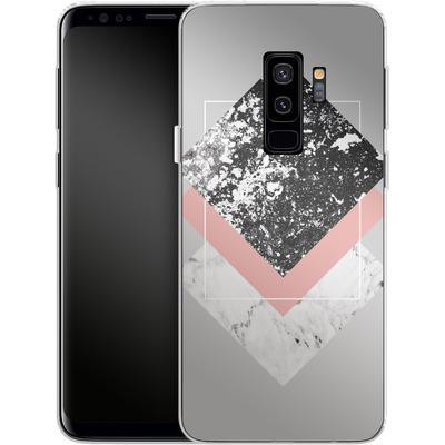 Samsung Galaxy S9 Plus Silikon Handyhuelle - Geometric Textures 1 von Mareike Bohmer
