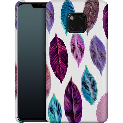 Huawei Mate 20 Pro Smartphone Huelle - Pink Leaves 2 von Mareike Bohmer