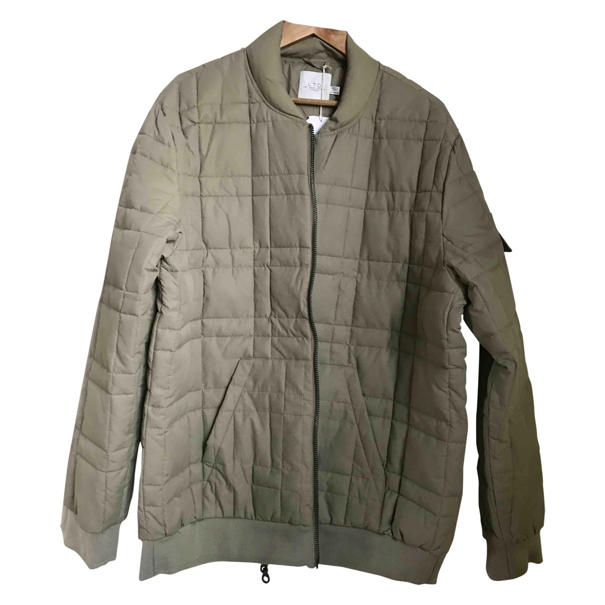 Non Signé / Unsigned \N Khaki Cotton jacket  for Men XXL International