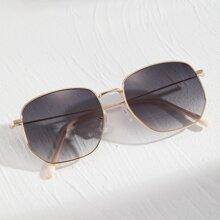 Men Metal Frame Sunglasses