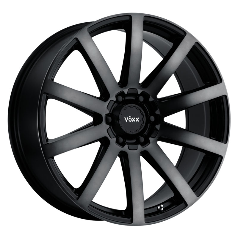 Voxx Vento 18x8 5x112120 40mm Gloss Black wDark Tint