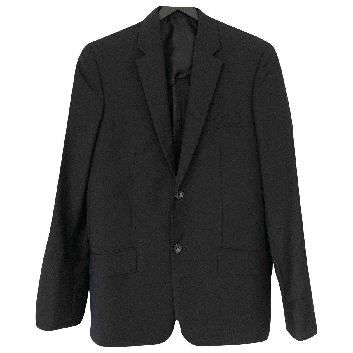 Balenciaga - Vestes.Blousons   pour homme en laine - noir