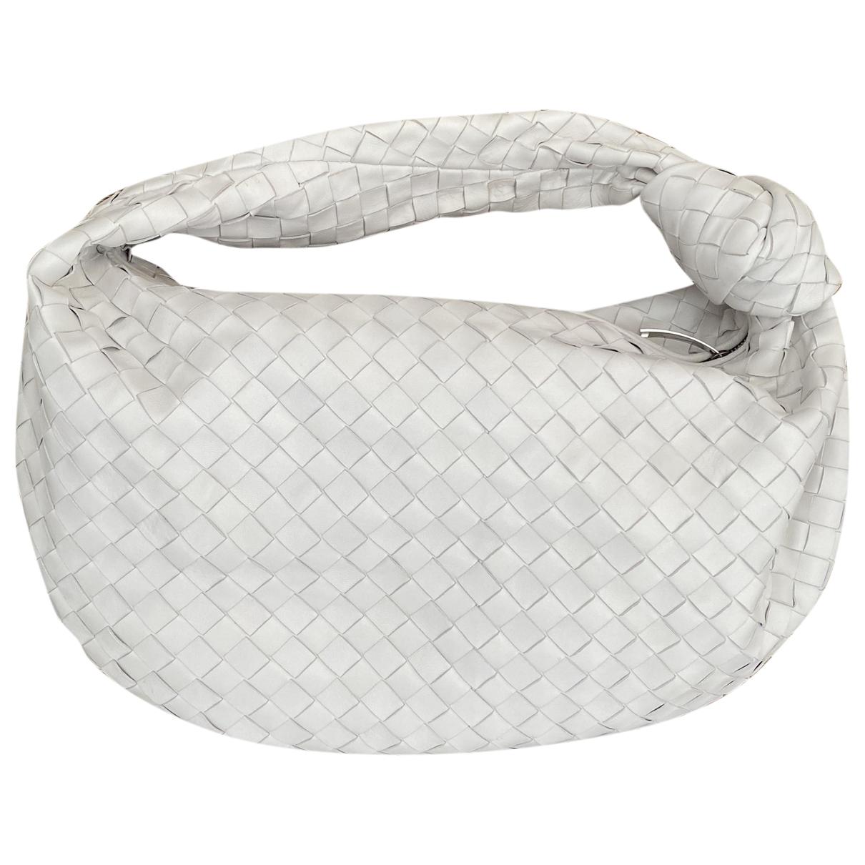 Bottega Veneta Jodie White Leather handbag for Women \N