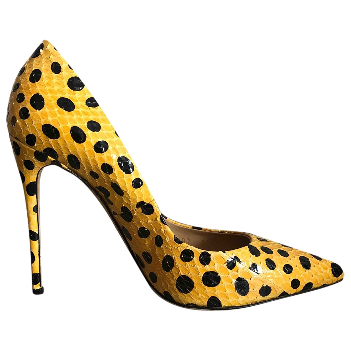 Dolce & Gabbana \N Pumps in  Gelb Python