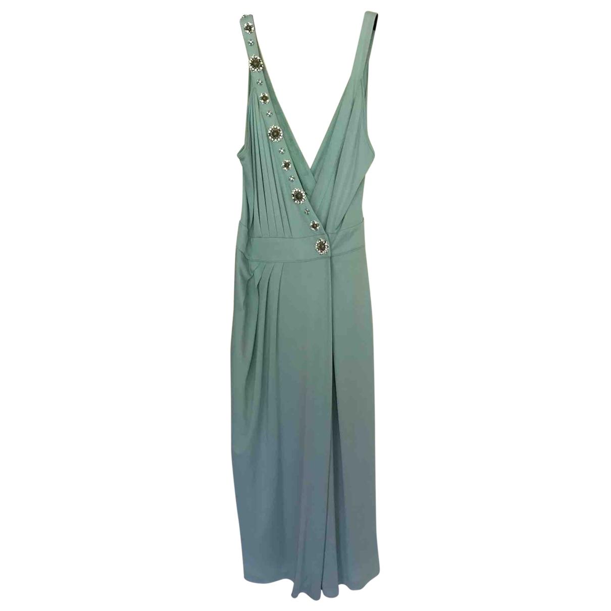 Blumarine \N Kleid in  Tuerkis Viskose