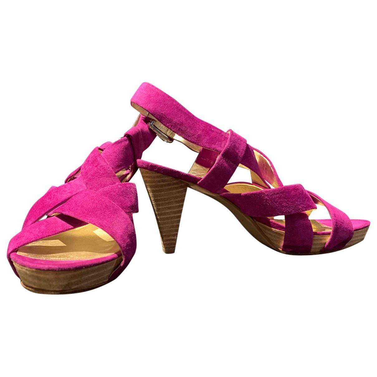 Kennel Und Schmenger - Escarpins   pour femme en suede - violet