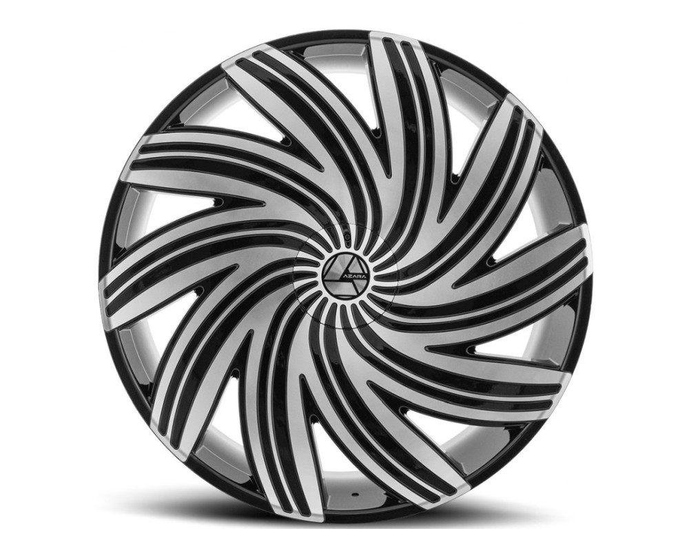 Azara 502 Wheel 20x8.5 5x108|5x114.3 35mm Gloss Black Machined