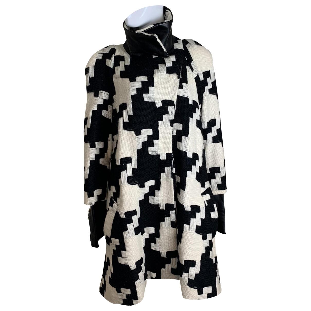 Preen By Thornton Bregazzi - Manteau   pour femme en laine - noir