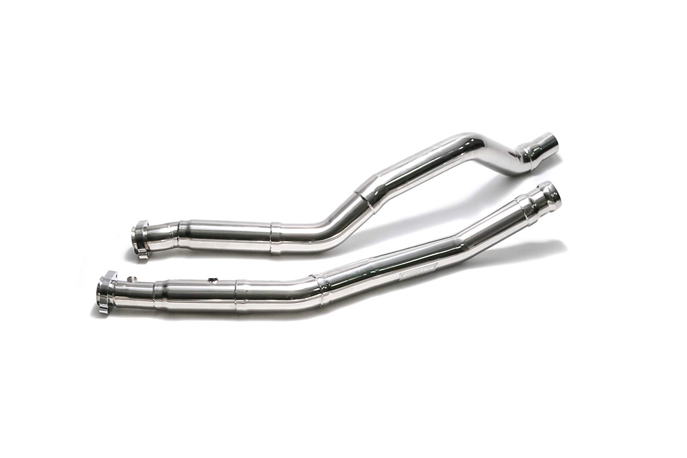 ARMYTRIX Stainless Steel Race Pipe with Cat-Simulator Mercedes-Benz GLE63 AMG 2016-2019