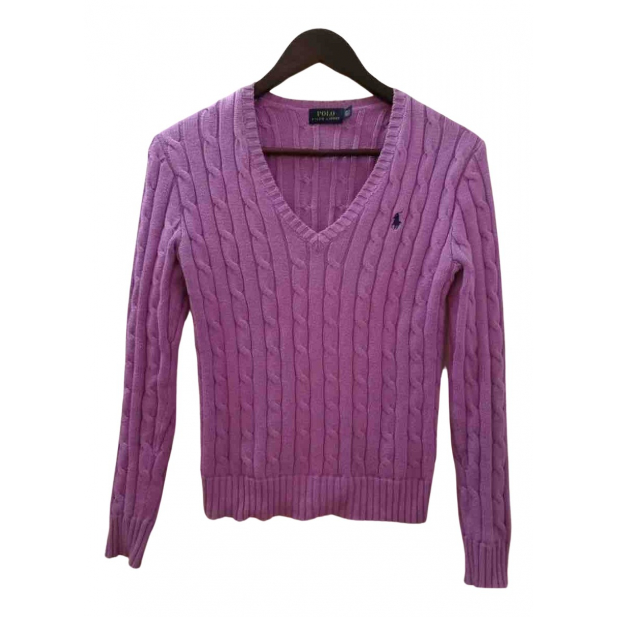 Polo Ralph Lauren \N Pullover in  Rosa Wolle