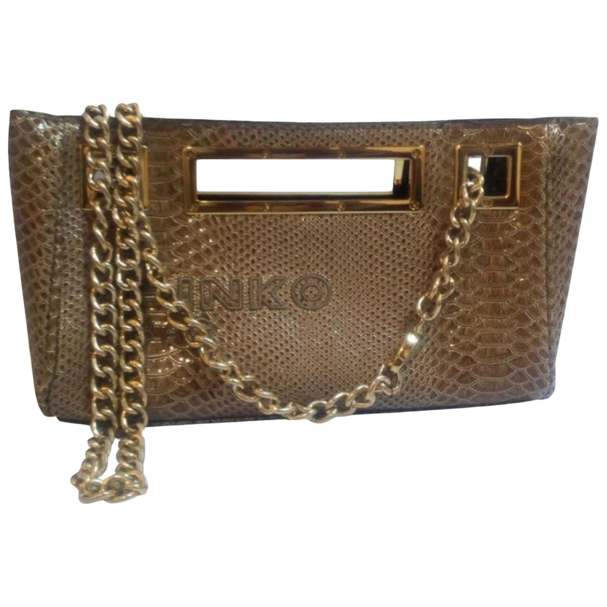 Pinko \N Beige Clutch bag for Women \N