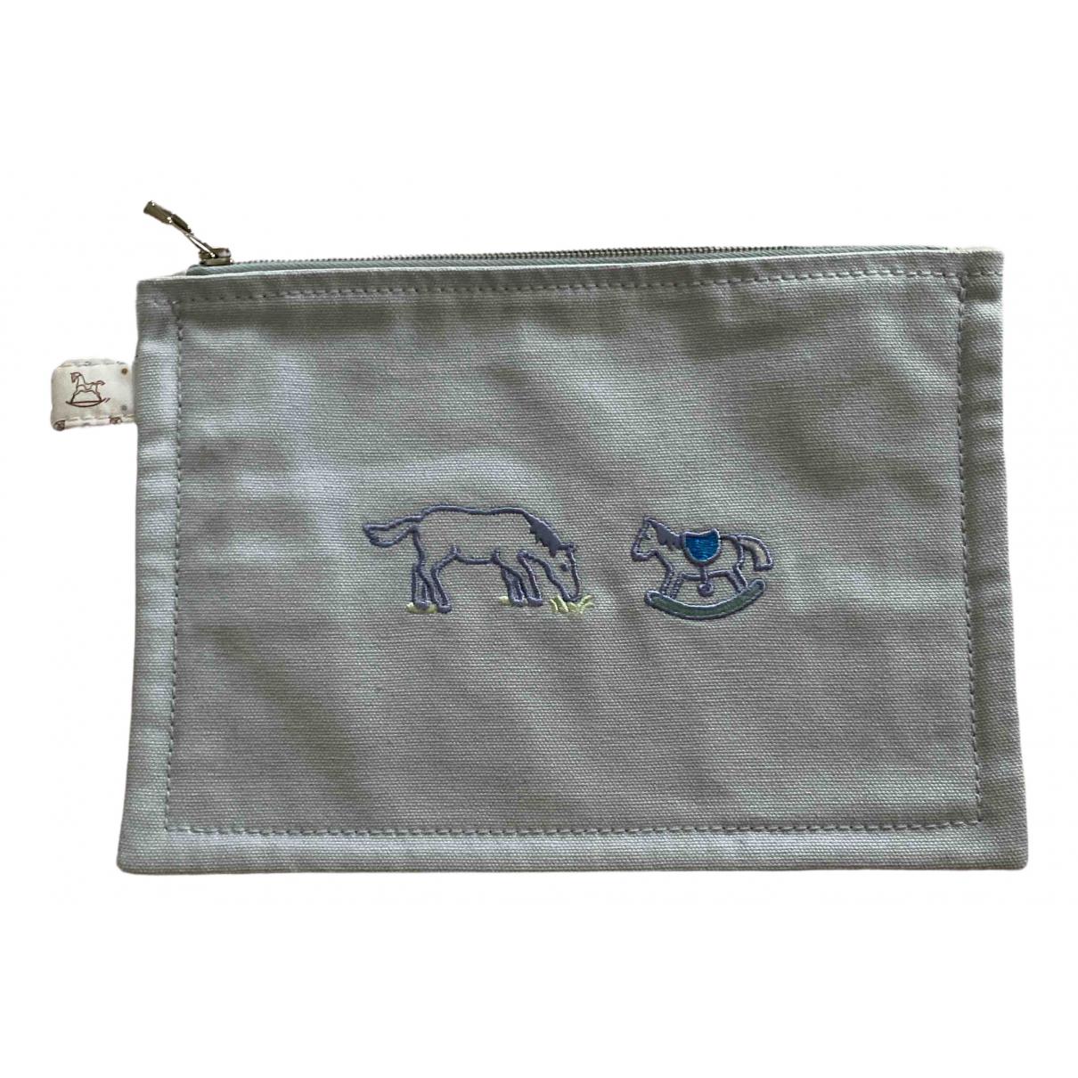 Hermes - Sac   pour enfant en coton - bleu