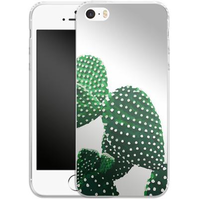 Apple iPhone SE Silikon Handyhuelle - Cacti von Mukta Lata Barua