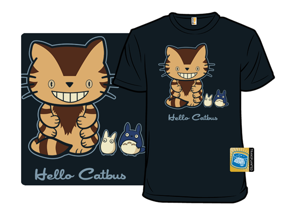 Hello Catbus T Shirt