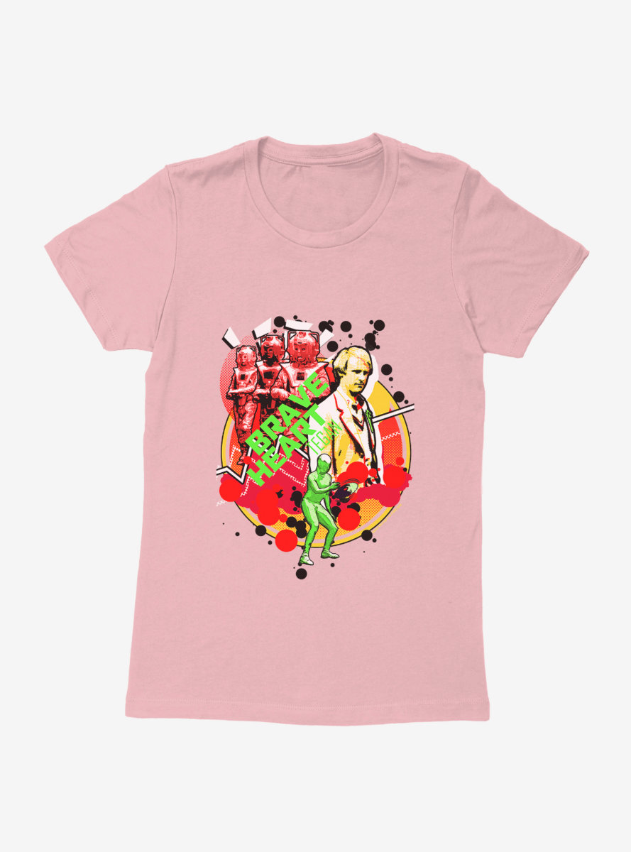 Doctor Who Brave Heart Womens T-Shirt