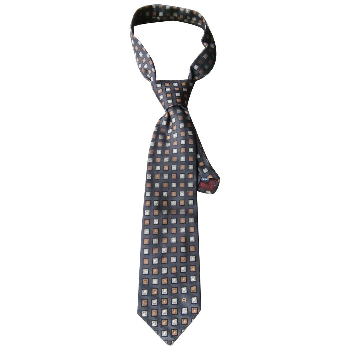 Aigner \N Multicolour Silk Ties for Men \N