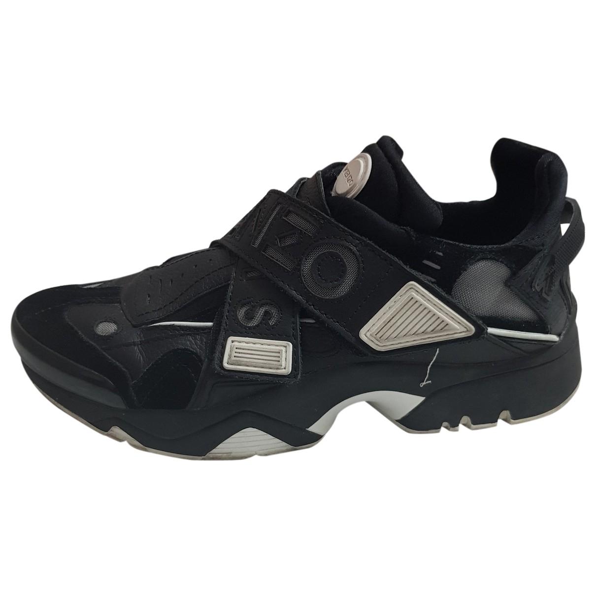Kenzo \N Sneakers in  Schwarz Leder
