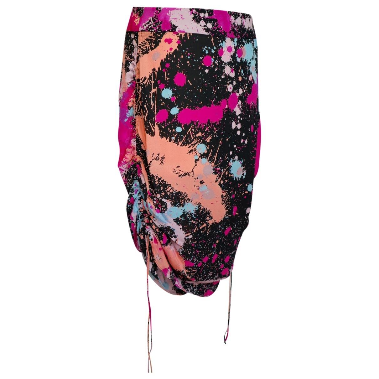 Matthew Williamson \N Multicolour Silk skirt for Women 12 UK