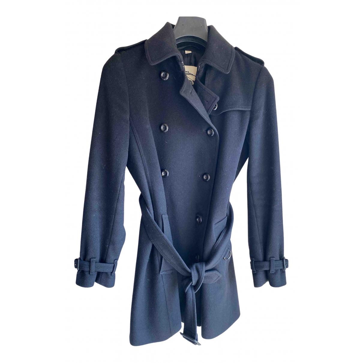 Burberry - Manteau   pour femme en cachemire - noir