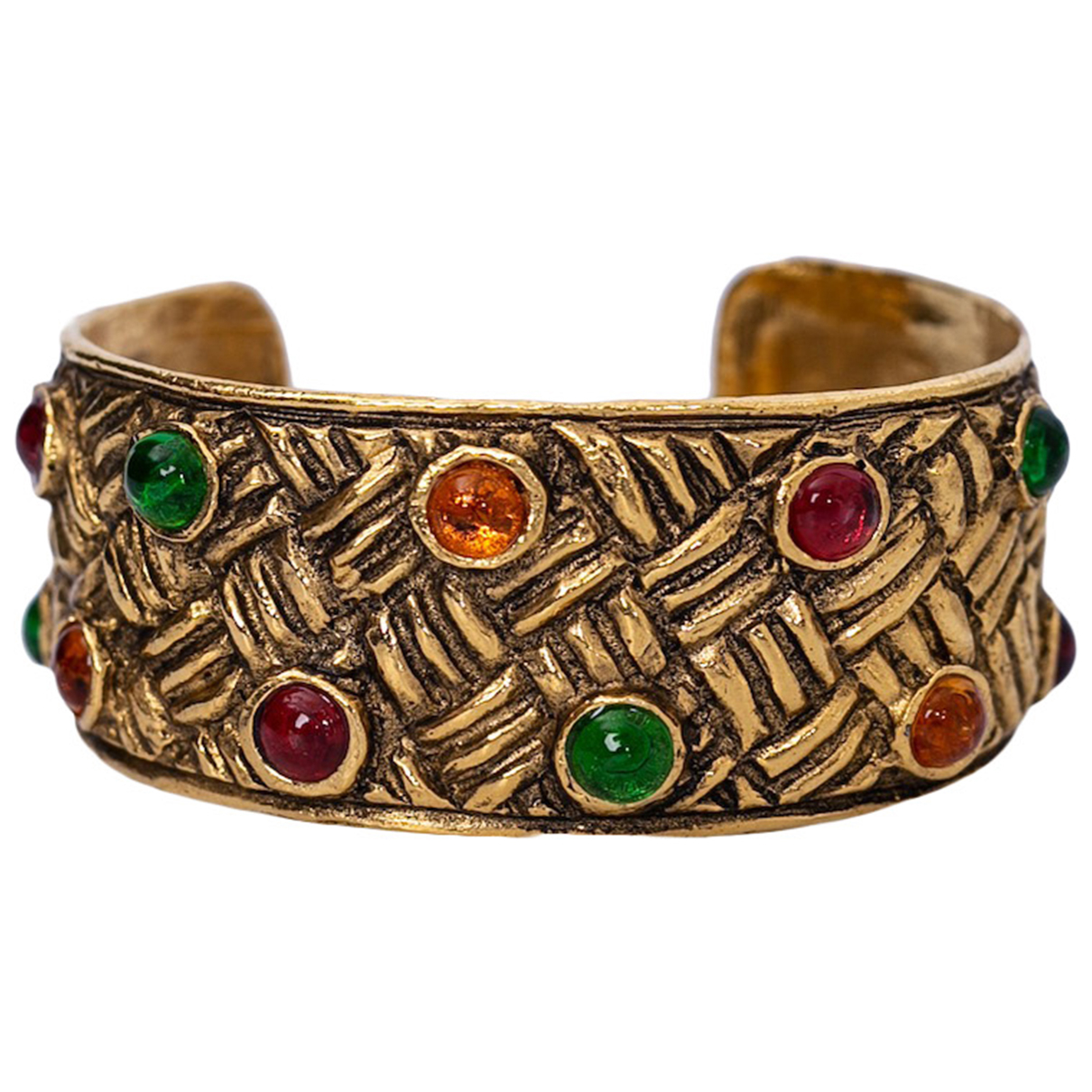 Chanel Baroque Gold Metal bracelet for Women N