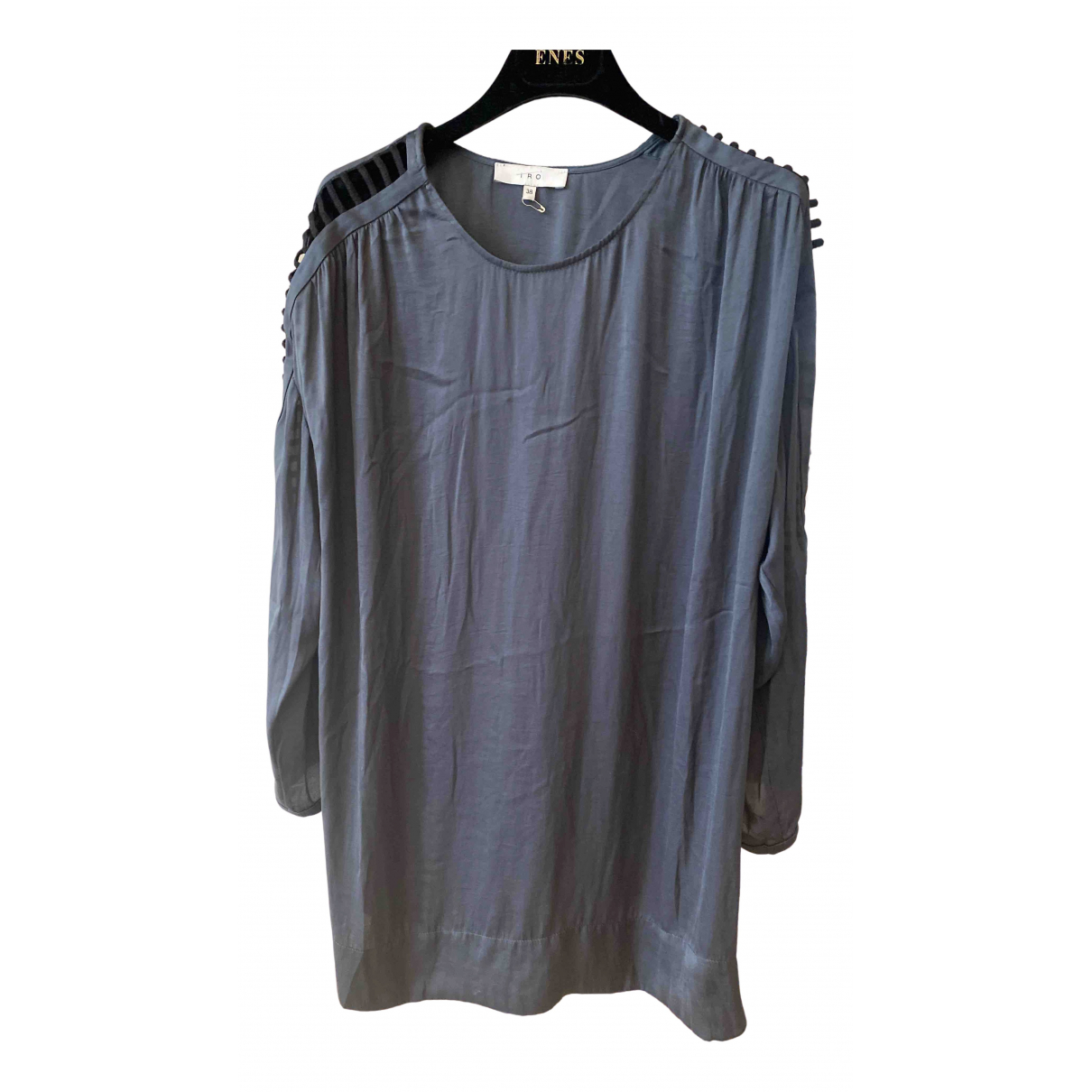 Iro Spring Summer 2019 Grey Silk  top for Women 38 FR