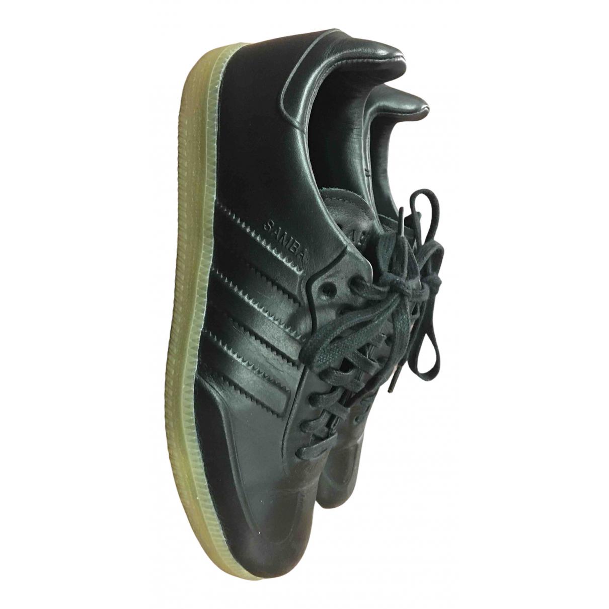 Adidas Samba Sneakers in  Schwarz Leder