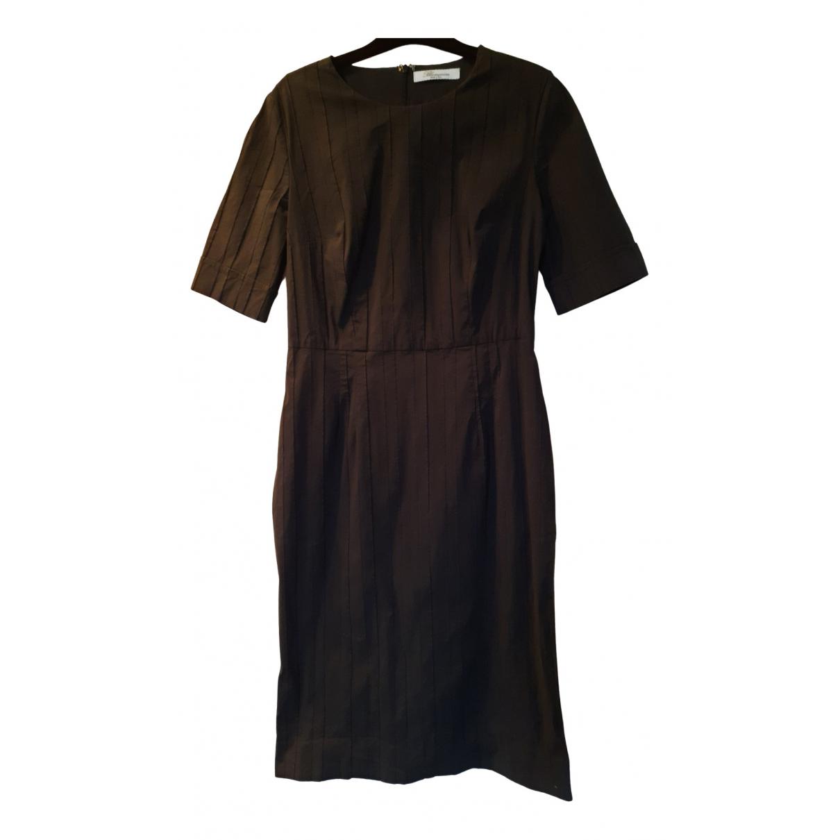 Blumarine - Robe   pour femme en coton - elasthane - noir