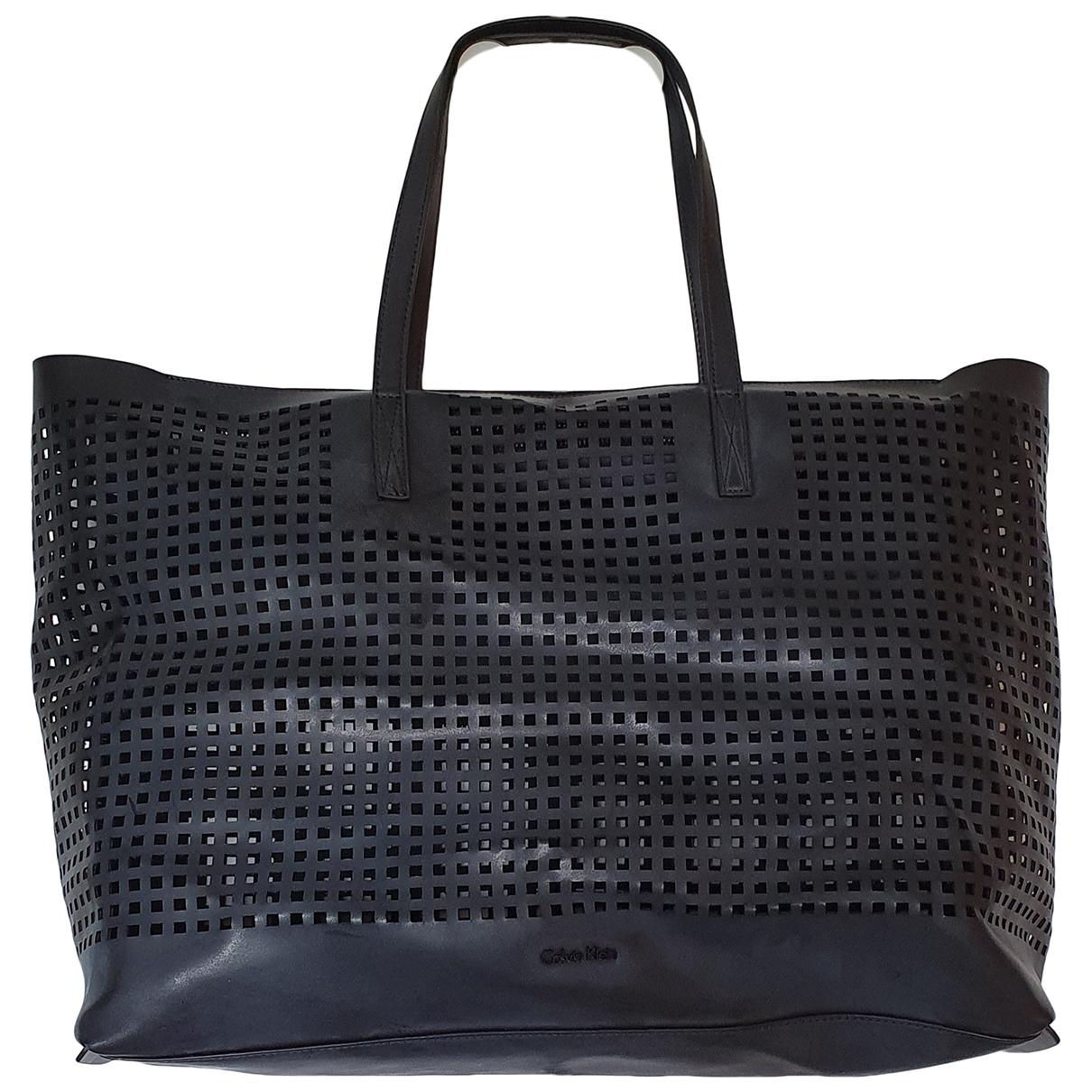 Calvin Klein Collection \N Handtasche in  Schwarz Synthetik