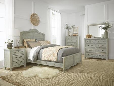 Chatsworth B644-FB-DRMRCSNS 5-Piece Bedroom Set with Bed  Dresser  Mirror  Chest and Nightstand in
