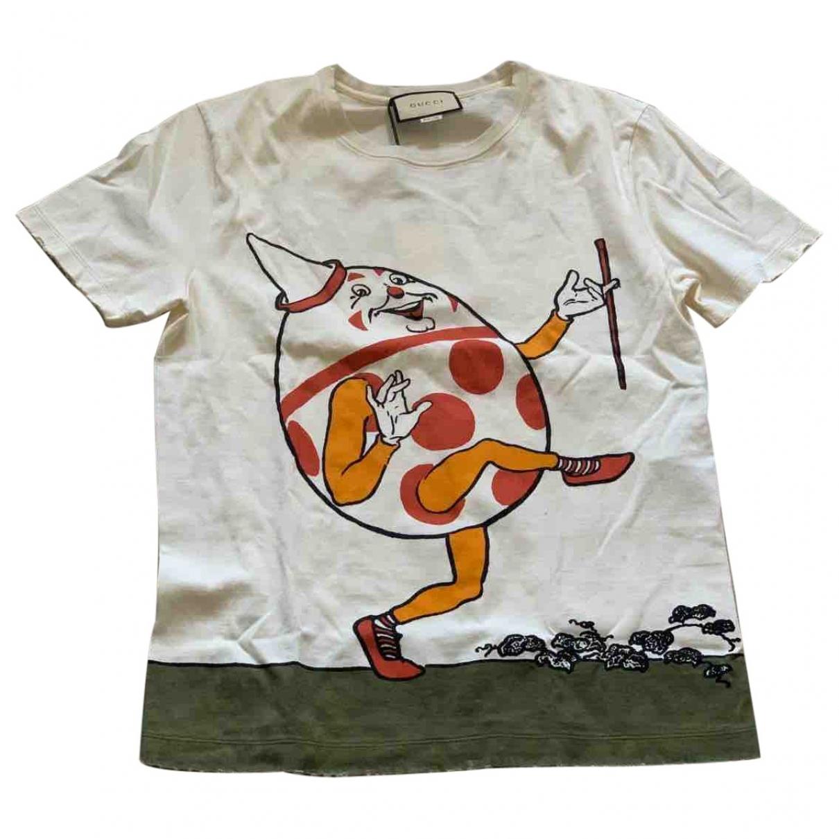 Gucci \N Multicolour Cotton T-shirts for Men L International
