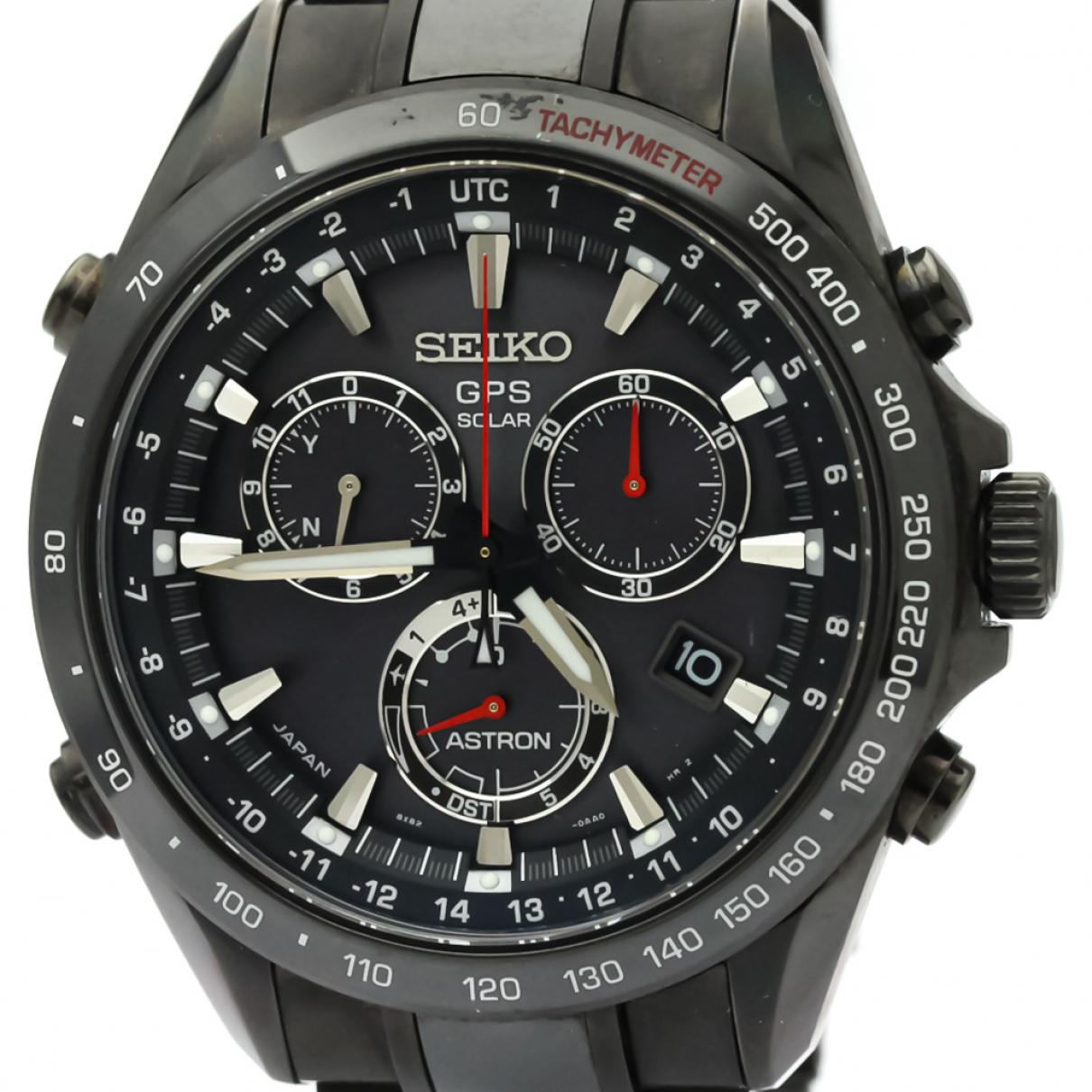 Seiko \N Black Ceramic watch for Men \N
