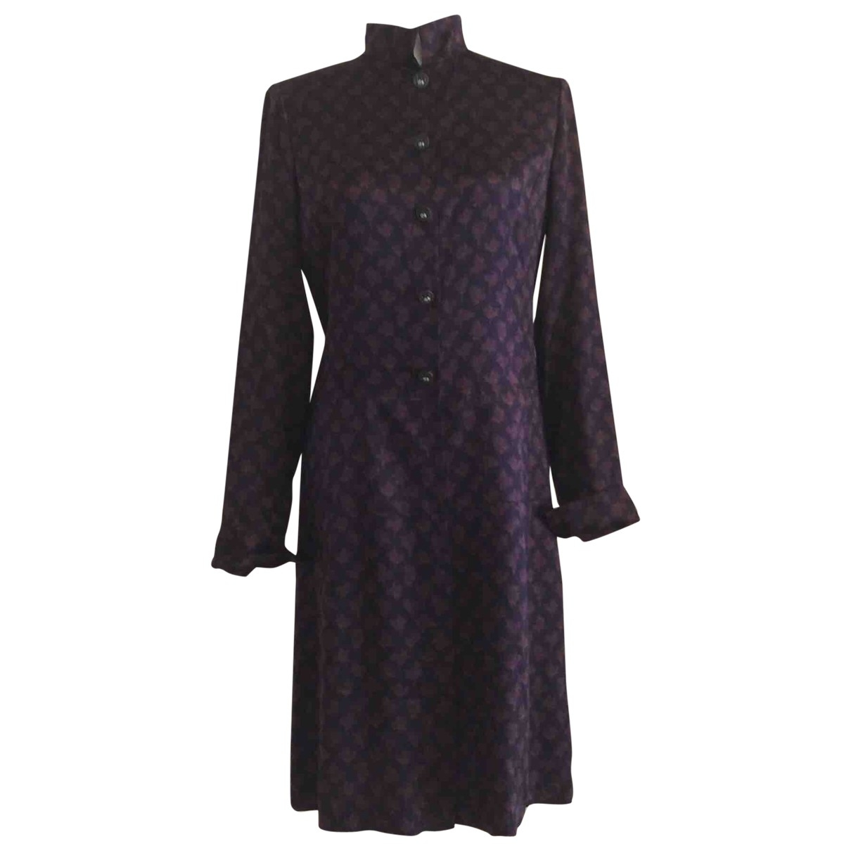 Chanel \N Kleid in  Braun Seide