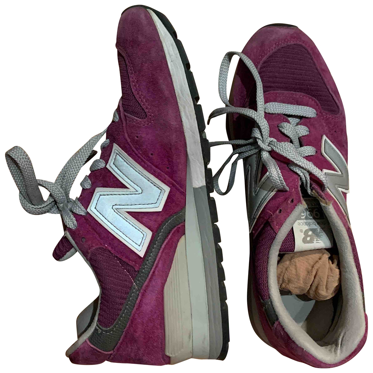 New Balance \N Sneakers in  Lila Leinen