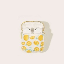 Lemon Pattern Airpods Box Protector