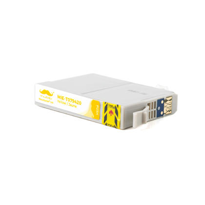 Epson 79 T079420 cartouche d'encre compatible jaune haute capacité - Moustache®