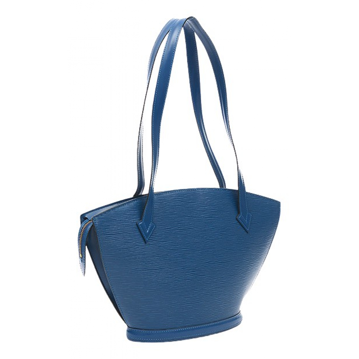 Louis Vuitton - Sac a main   pour femme en cuir - bleu