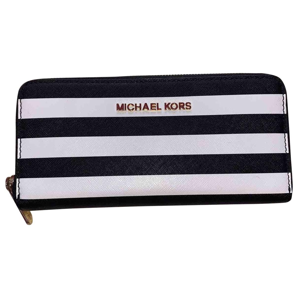Michael Kors - Portefeuille Jet Set pour femme en cuir