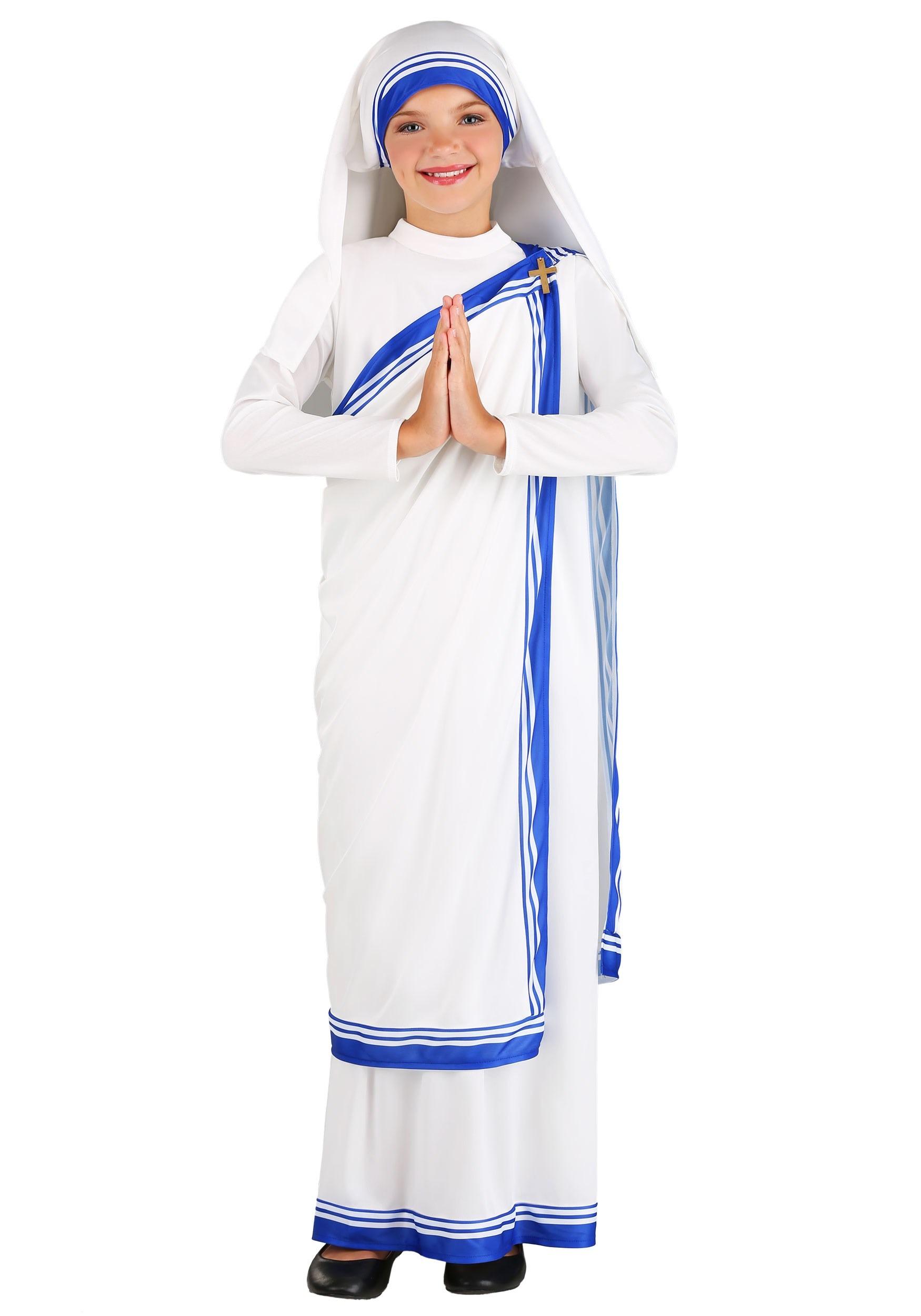 Mother Teresa Costume for Girls