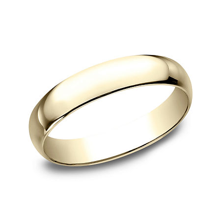 4MM 10K Gold Wedding Band, 14 , No Color Family