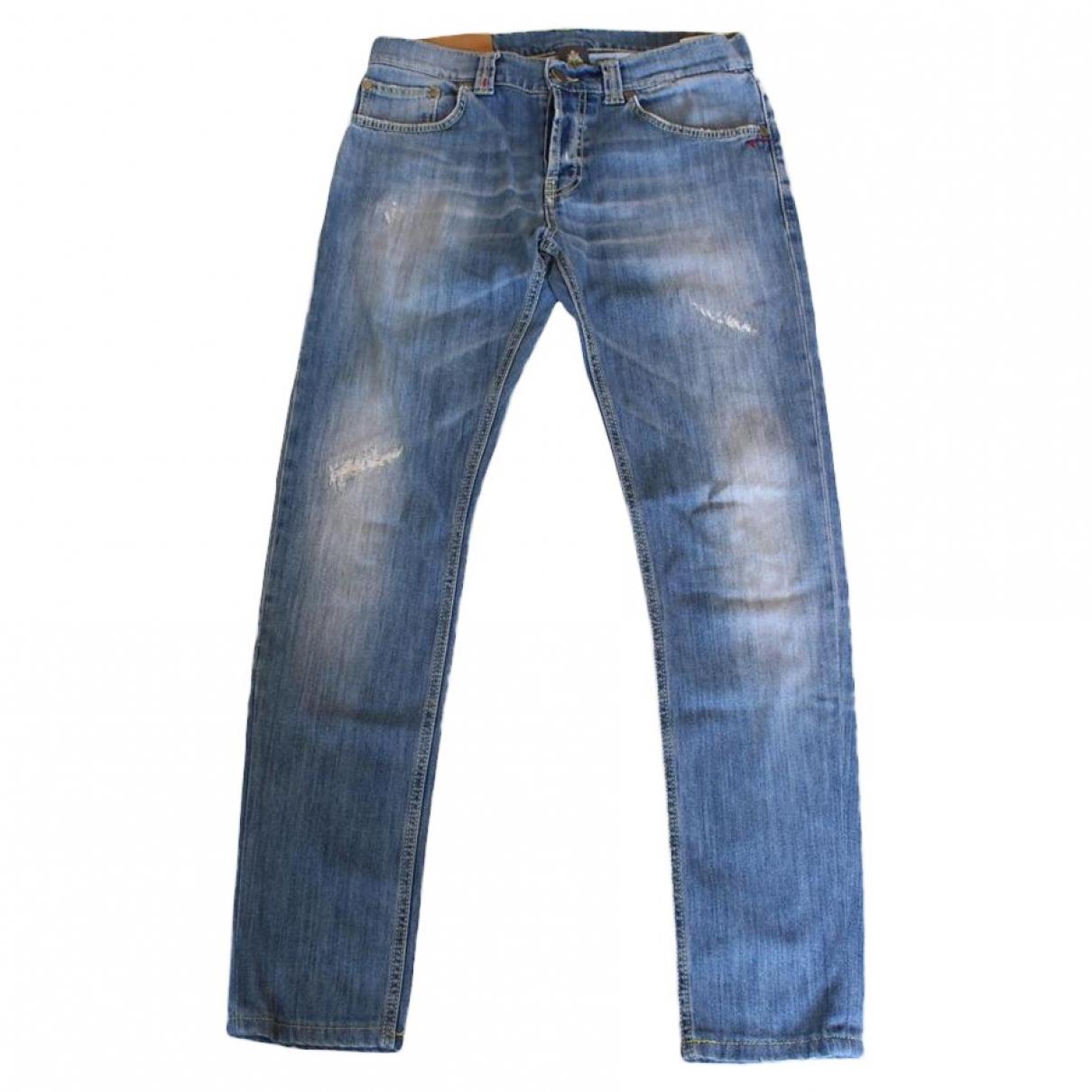 Pantalon en Denim - Vaquero Azul Dondup